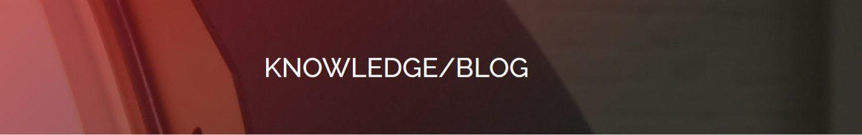 KNOWLEDGE/BLOG